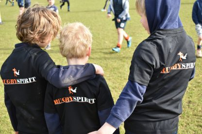 Kampshirt Rugby Spirit
