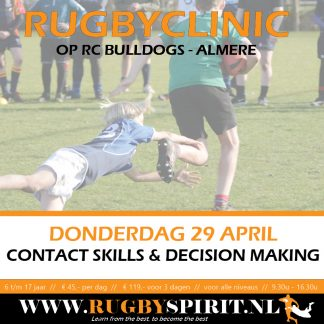 Rugbyclinic contact skills & decision making RC Bulldogs