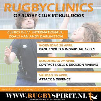Rugbyclinics 3 dagen RC Bulldogs