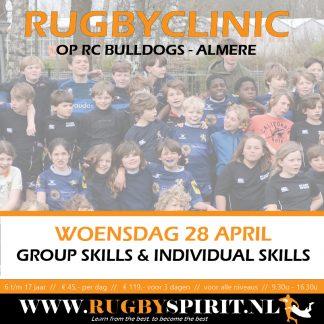 rugbyclinic groups skills and individual skills rc Bulldogs