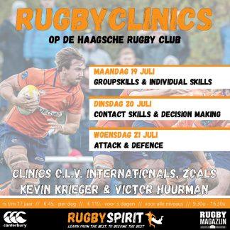 rugbyclinic 3dagen HRC