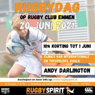 Rugbyclinic emmen