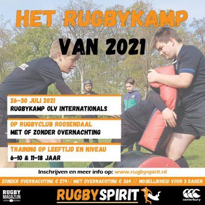 het rugbykamp van 2021