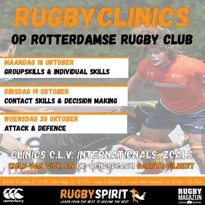 rugbydagen op Rotterdamse RC