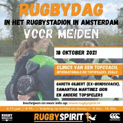 rugbydag voor meiden